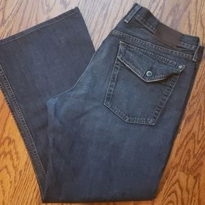 Lucky brand relaxed bootleg jeans